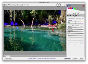 Camera Raw 5.5 -  JPEG